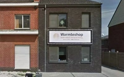 Warmteshop Gavere infrarood verwarming winkel showroom