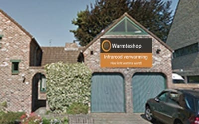 Warmteshop Maasmechelen infrarood verwarming winkel showroom