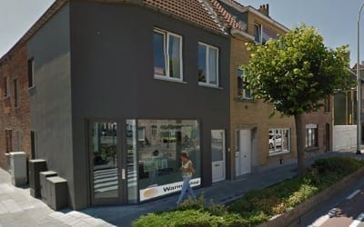 warmteshop Blankenberge infrarood verwarming winkel showroom